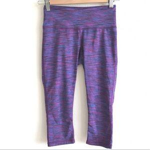 Z by zella | Slim Space Dye Crop Yoga Pants